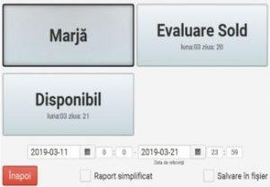 Alte Rapoarte Operationale - Marja, Evaluare Sold, Disponibil_1