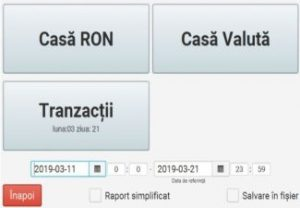 Rapoarte Operationale - Reg. Casa Ron, Valuta, Tranzactii_1